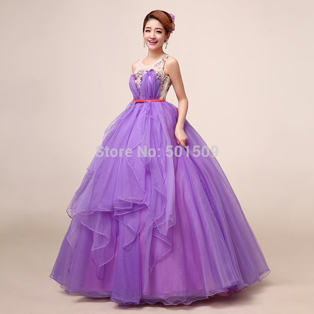 yellow/purple ruffled beading floral Medieval dress Renaissance gown royal dress Victoria dress/princess cosplay Belle Ball