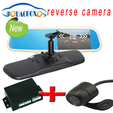 video registrator car, car mirror dvr, mirror video recorder most car models with bluetooth, night vision