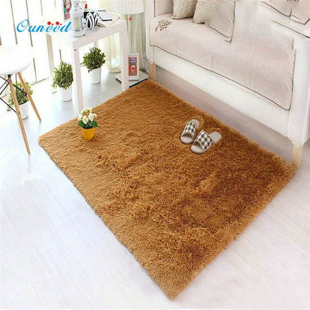 Happy Home 40*60cm Warm Hairy Carpet Seat Pad Area Rugs Rectangle Bedroom Faux Mat Dining Room Home Bedroom Carpet