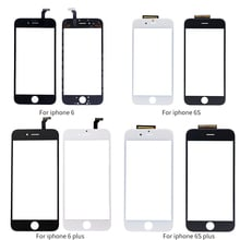 Netcosy Black White Touch Screen Digitizer Touch Panel Glass Lens for iPhone 6 6s 4.7 Touchscreen Replaement Repair Spare Parts
