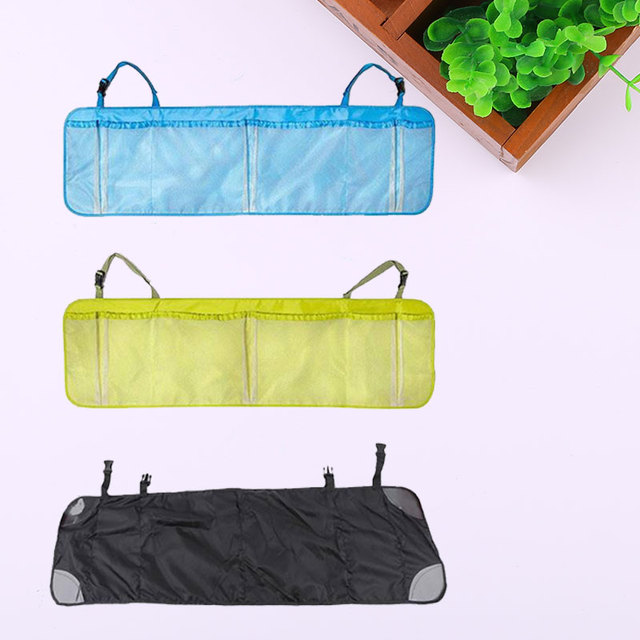 New Car Auto Back Rear Trunk Seat Elastic String Nets Pocket Cage Storage Bag