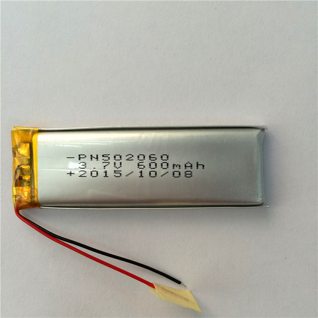 502060 polymer lithium battery 3.7V MP3 MP4 MP5 recording pen Rechargeable Li-ion Cell