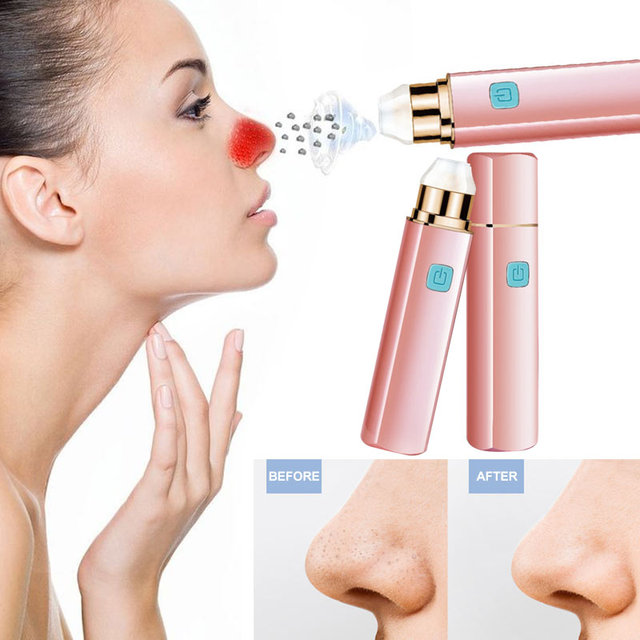 Vacuum Acne Cleanser Acne Effective Blackhead Remover Multifunction Lipstick Pore Cleaner Nose Deep Cleaning Acne Treatment