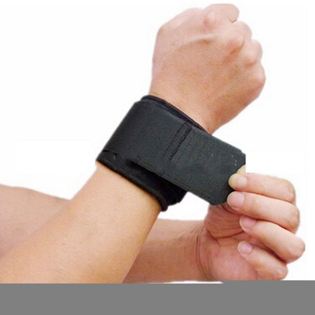 1pc Universal Men Adjustable Tool Sports Wristband Wrist Brace Wrap Bandage Gym Strap Hand Sport Tool