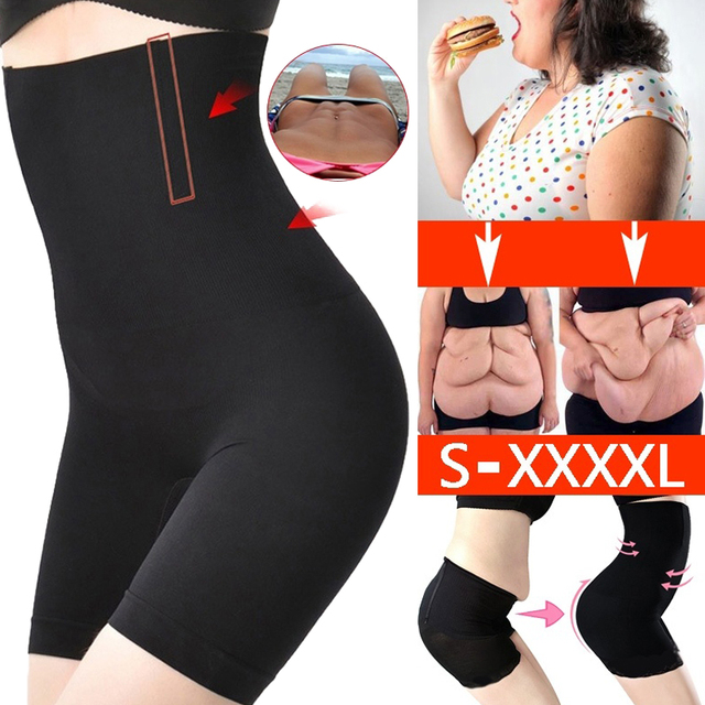 Women High Waist Slimming Safety Of Pants Tummy Control Knickers Pant Nylon Body Shapewear Ladies Modeling Strap Underwear
