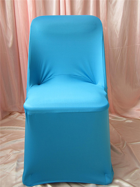 1-2-- 50PCS Folding Chair Cover Lycra Chair Cover / Spandex Chair Covers / Wedding Chair Covers For Wedding Decoration & Party
