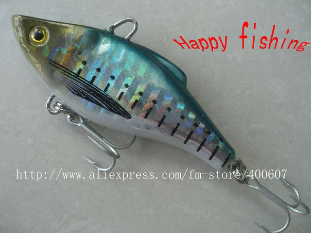 Japnese Style VIB FISHING LURE (V60S) Enjoy Retail Convenience at Wholesale Price