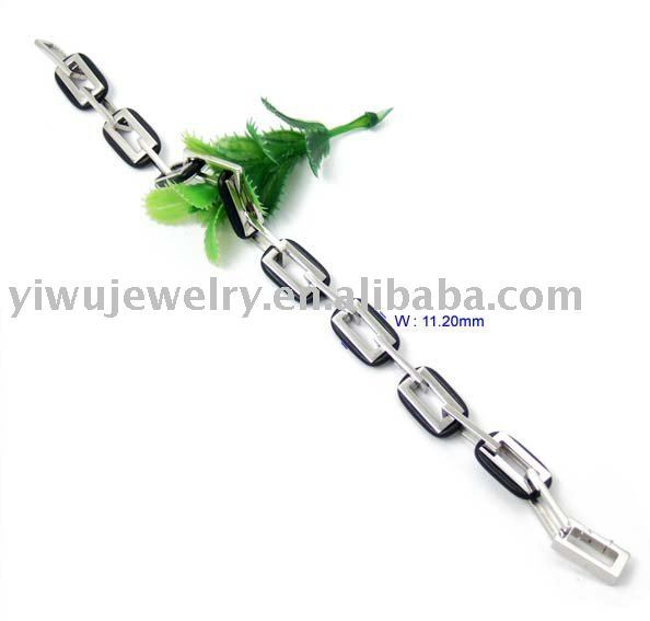 High Quality S.S316L Surgical Whole Link Stainless Steel Bracelet Stainless Steel JewelryFree Shipping,RBC288
