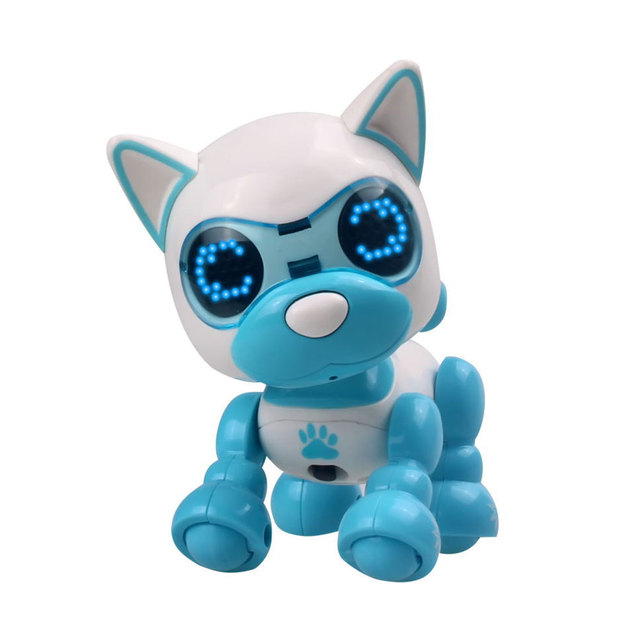 2018 Drop Shipping Electric Dog Smart Educational Puzzle Dog Toy ABS Beautiful Puzzle Music Dog Indoor