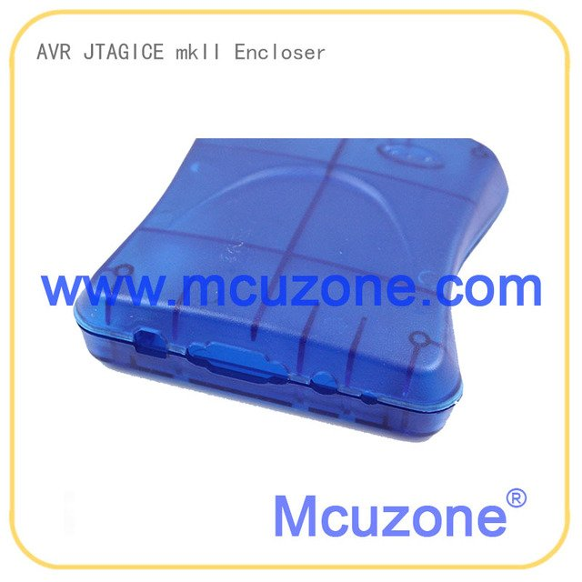 JTAG ICE mkII encloser housing BLUE