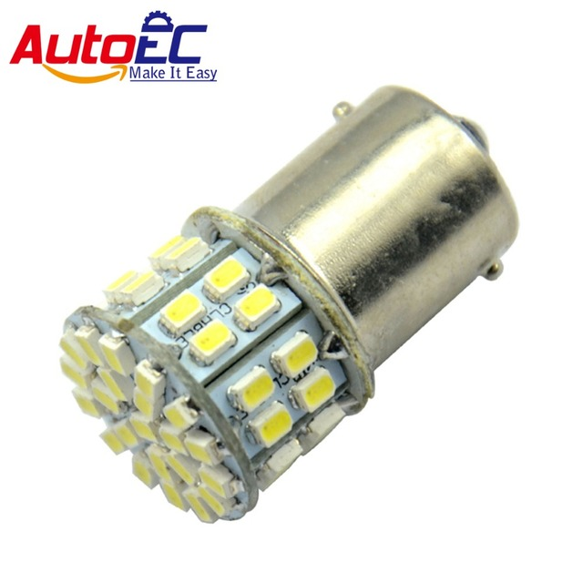 AutoEC 4x S25 BA15S 1156 50 SMD 50LED 1206 1157 BAY15D Turning Lamp Brake Light Parking Light Tail Lamp 12V Auto Car Led #LF02