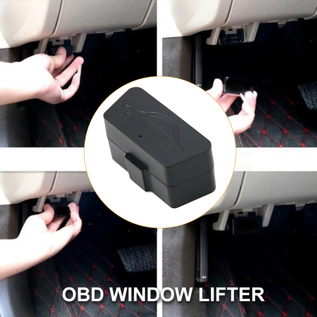 Vehemo OBD Automatic Auto Window Closer Car Window Closer Vehicle Glass Durable Remote Controller Closing Module System