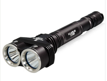 Klarus XT20 2 x CREE XM-L U2 1200 LM 4-Mode Dual Head LED Flashlight (Black)