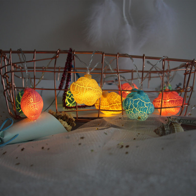 LED Cracked Cloud Fairy Sting Light for Holiday Decoration Party Christmas Wedding Room Decor Use Light IY310176