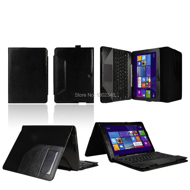 """Luxury Crazy Horse Folio Stand PU Leather Case With Keyboard Cover For ASUS Transformer Pad TF103C TF103 10.1 inch 10.1"""" Tablet"""