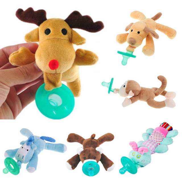 Baby Kids Toy Dummy Nipple  Soother Silicone Orthodontic Pacifier Cute Newborn