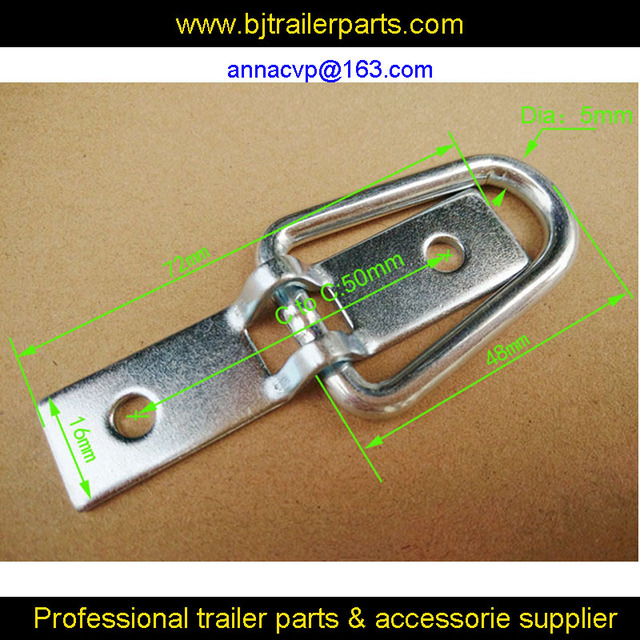 High quality deck ring, lashing ring, rope ring D ring tie down point anchor for trailers trailer parts accessories