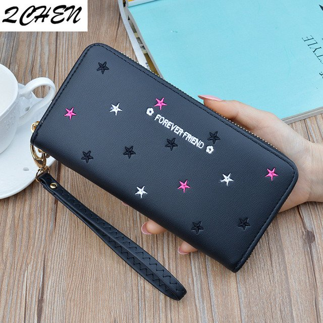 Women wallet long Purses Tassel Fashion Coin Purse Card Holder Female High Quality Clutch Money Bag PU Leather Wallets 450