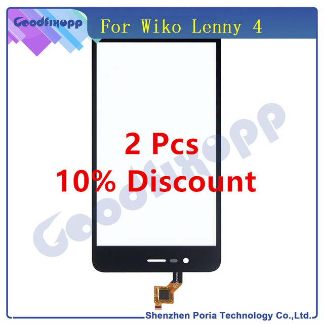 For Wiko Lenny 4 Touch Screen Digitizer Glass Panel Touchscreen For Wiko Phone Replacement Parts Touch Screen For Wiko Lenny 4