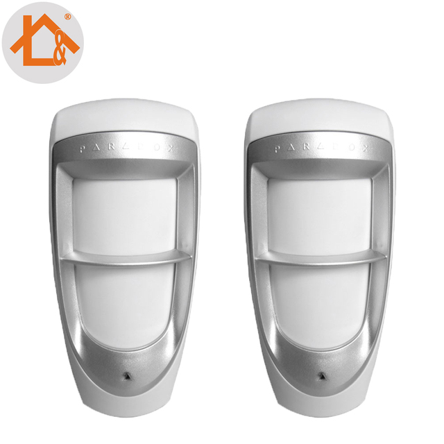 Upgrated Weather Proof Outdoor Dual PIR detector Motion Sensor with True Motion 2pcs
