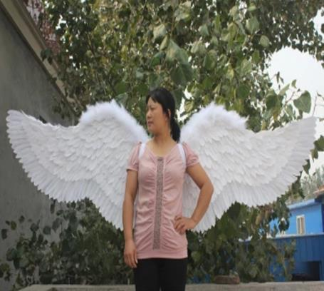 wedding/photography adult large feather wings props nice fashion angel wings model catwalk shows lingerie/auto shows prop