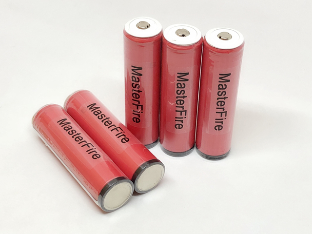 MasterFire 10pcs/lot New Protected Original Sanyo 18650 NCR18650GA 3500mAh Rechargeable Battery Batteries 10A Discharge with PCB