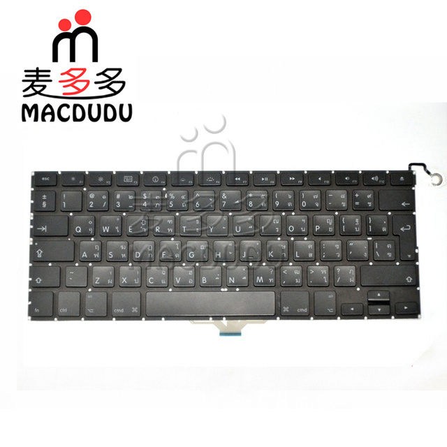 "Tested Thai Thailand Layout keyboard for Macbook Air 13"" A1237 MB003 MB233 MB234"