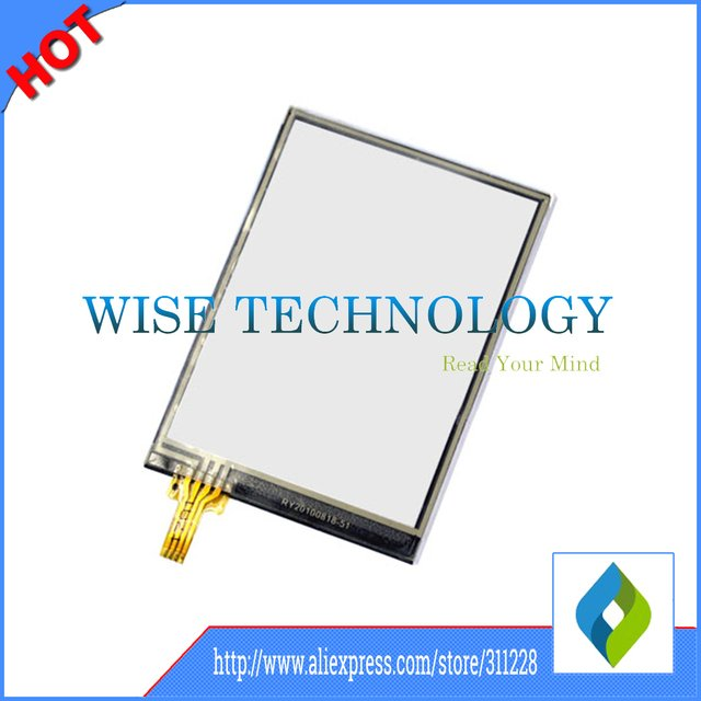 10pcs/lot for Honeywell Dolphin 6000 D6000 touch panel touch screen digitizer glass sensor for PDA,barcode scanner touch screen