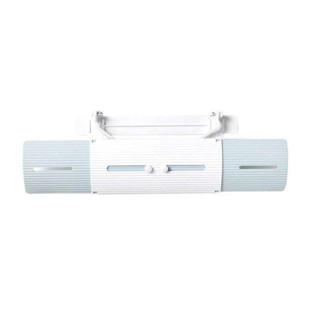 2019 Drop Shpping Plastic Windguard Air Conditioner Wind Shield Retractable Durable Anti Direct Blowing Outlet Shutter Board