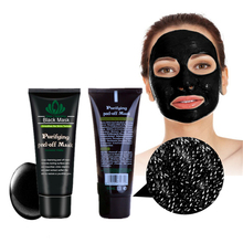 Black spot Remover Mask Nose Face Blackhead Remover Face Pack Peel Off Black Head Acne Treatments Charcoal Deep Clean Mask 1Pcs