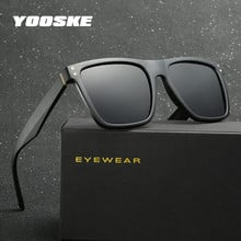 YOOSKE Retro Mens Sunglasses Polarized Lens Vintage Sun Glasses For Men Women Driving Sunglass UV400 Shades Goggles