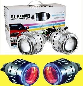 35w H1 H4 H7 H11 bulb Inside 2.8 inch Original g5  HID Projector Lens Light 4300K 5000K 6000K 8000K + CCFL Angel eyes