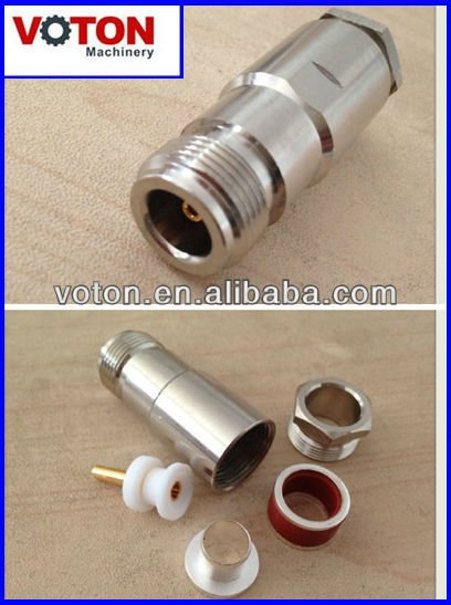 free shipping Nut pressure N Female with RG8/U cable connector