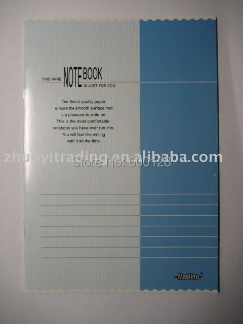 School Exercise Book  A5 24 Sheets  Office supplies   10 pcs/lot
