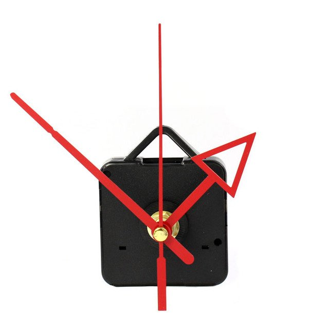 high quality Professional And Practical Quartz Wall Clock Movement Mechanism DIY Repair Tool Parts Kit with Blue Hands Hot sale