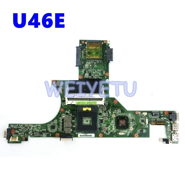 U46E _MB Motherboard For ASUS U46E Laptop Mainboard REV 2.0 60-N5MMB1000-D02 100% Tested