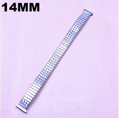 Wholesale 10pcs/lots High quality 14MM stainless steel Watch Bands elasticity watch strap -05134Q