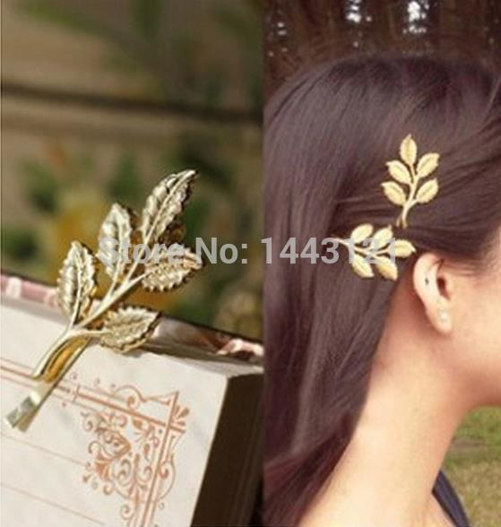 European and American retro Sen Department of Athena olive leaves beautiful bride hairpin