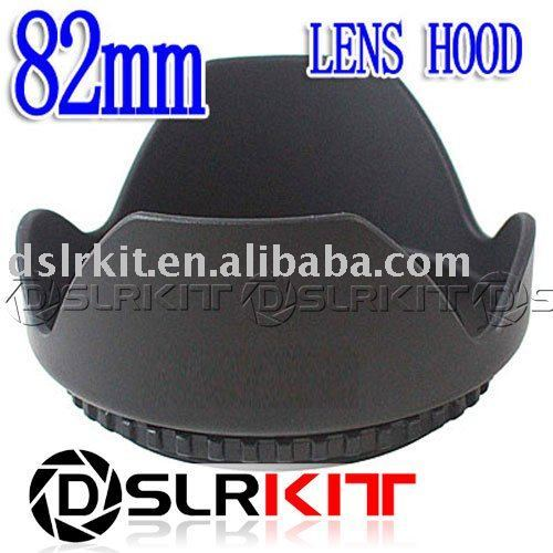 DSLRKIT 82mm Lens Hood Petal Crown Flower Shape for Canon Nikon Olympus (82 lens thread size)