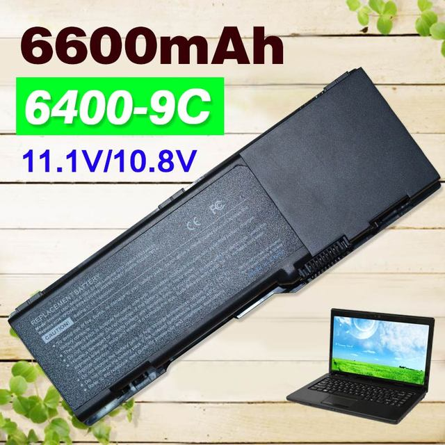 9 cell 6600mAh 11.1v Battery For Dell Inspiron 6400 1501 E1505 PD946 PR002 RD850 RD855 RD857 TD344 TD347 TD349 UD260 UD264 UD267