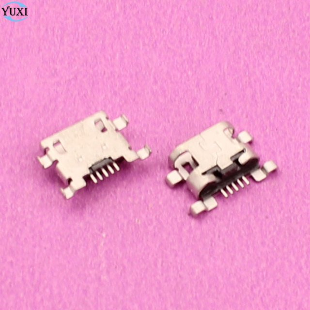 YuXi 1 Piece Replacement For Lenovo A910 Charge Charging Port Micro USB Jack Connector