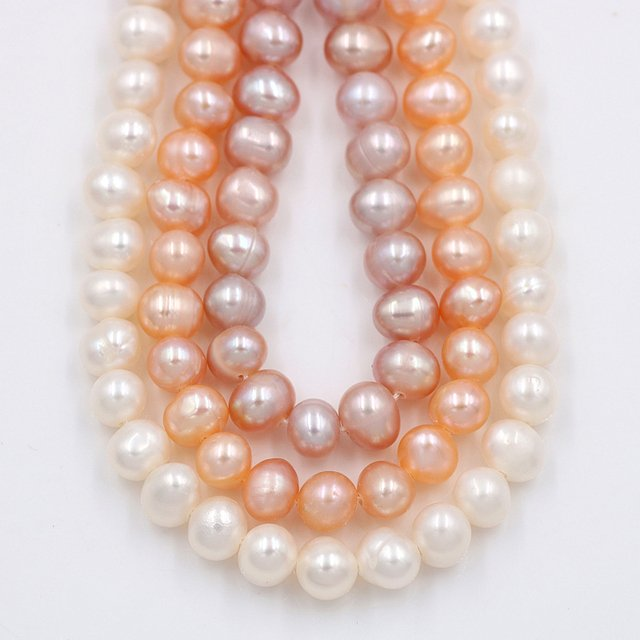 30pcs/lot Freshwater Pearls Natural Stone Beads for Fashion Jewelry Making DIY Charms Bracelet Necklace Accessories(4*5mm)