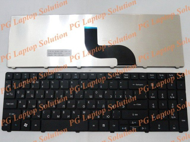 New Russian RU Keyboard For Acer Aspire TK37 TK81 TK83 TK85 TX86 TK87 Packard Bell Easynote TM05 TM80 TM81 TM97 TM01 Black