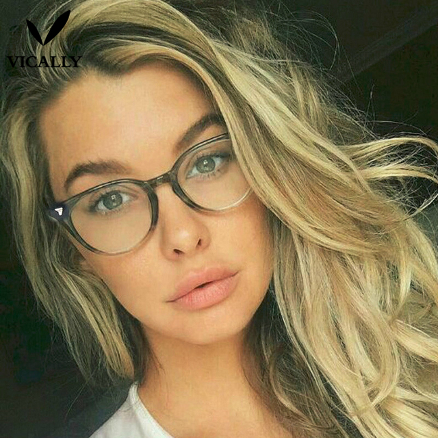 Fashion Eyeglasses Frame Retro Men Women Designer Eyeglasses Male Female Optical Eye Glasses Frame UV Protection Eyewear Oculos
