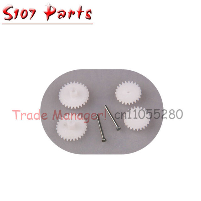 Factory wholesale 10 sets syma s107 rc helicopter  gear kit Accessories for s107g helicopter
