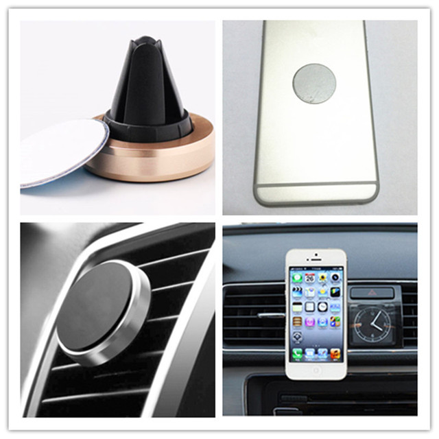 MLLSE Universal Magnetic Car Phone Holder GPS Air Vent Mount Mobile Phone Support For iPhone 6 7 XIAOMI Bracket Stand Support