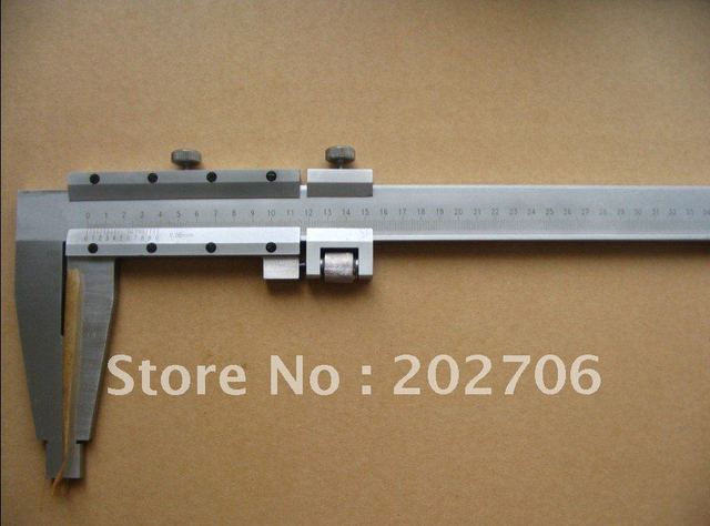 High quality 0-3000MM Heavy Duty Vernier Caliper without Upper Jaws