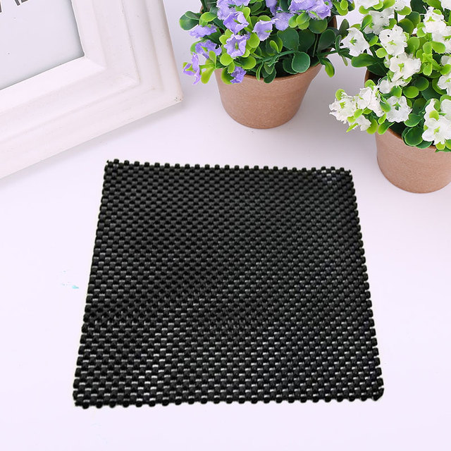 Flexible Auto Car Vehicle Anti Slip Dashboard Mat Pad Phone Key Holder Black