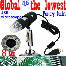 Free shipping High Quality Portable Microscope Electron Microscope Portable USB Microscope Digital Microscope  1000X