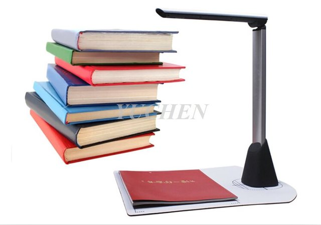 High-Speed Document Camera Portable A3 Document Scanner 10 Mega-Pixel Photo Image Book Scanner Scanning Size A3 A4 A5 A6 A7